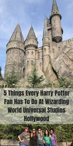 5 Things Every Harry Potter Fan Has To Do At Wizarding World Hollywood – Paris Disneyland Pictures Harry Potter Hollywood, Universal Hollywood, Harry Potter Universal, Disney Universal Studios, Universal Orlando, Disneyland Trip, Disney Vacations, Family Vacations, Disney Cruise