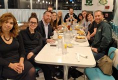 March Under 40 Networking at Lola's Diner! Always a great time!