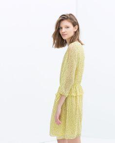 ZARA - TRAFALUC - DRESS WITH SHOULDER SLITS