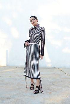 Look Coven: este conjunto de tricot é aquela roupa que você pode ir desde um jantar bacanudo, passando por um fashion week, até um casamento no Inverno. Amo roupas versátil como essa!