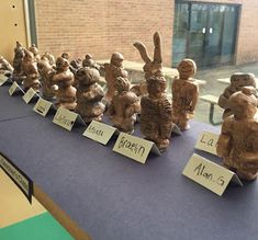 Thomas Elementary Art: 3rd Grade Terra Cotta Warriors