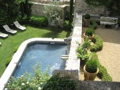 Luxury villa rentals in the South of France. Magnificent settings with pools, housekeeping & chef services. Start your search to find a villa in France. Outdoor Spaces, Outdoor Living, Outdoor Decor, Mediterranean Garden Design, Small Swimming Pools, Luxury Villa Rentals, House Landscape, Garden Pool, Pool Houses