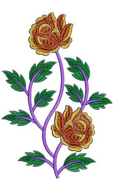 8571 Patch Embroidery Design