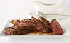 Easy Roasted Beef Tenderloin Feeding a crowd? Make it a high-end beef sandwich number. Sit-down dinner? Make it more formal – present whole or sliced on a platter. Epicure Recipes, Low Carb Recipes, Beef Recipes, Snack Recipes, Cooking Recipes, Easy Recipes, Recipies, Snacks, Sandwich Bar