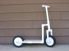 PVC scooter...