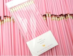Perfect Pink Pencils, set of Preppy School Supplies by PreppyProdigy on Etsy. ] Perfect Pink P Perfect Pink, Pretty In Pink, Rose Fushia, Pastel Pink, School Suplies, Back To School Supplies, Office Supplies, School Essentials, School Office