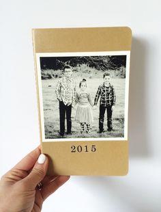 Personalized DIY moleskine journals