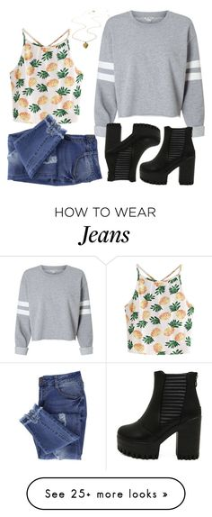 """""""Random#52067"""" by cfull on Polyvore featuring WithChic and Essie"""