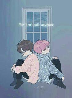 we don't talk anymore 커버송 정국&지민