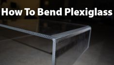 We bend a lot of acrylic plexiglass for different household projects. The best way to bend plexiglass yourself is using a professional heat gun such as the one we use which is made by Dewalt – Dewalt Heat Gun. Furniture Repair, Diy Furniture, Acrylic Furniture, Craft Tutorials, Diy Projects, Minis, Heat Gun, Barbie, Do It Yourself Home