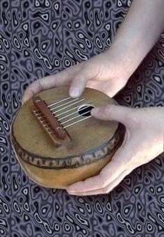 Calimba Africana Instrumento Artesanal En Mate Y Madera - u