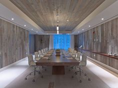 Looking past this being a hotel conference room, the wood paneling is perfect!