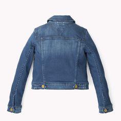 Tommy Hilfiger Denim Jacket - tribeca mid sateen stretch (Blue) - Tommy Hilfiger Coats & Jackets - detail image 1