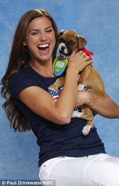 Puppy love: Michael Phelps, Venus Williams, Alex Morgan and other Olympic athletes lend a hand to help animals up for adoption   Daily Mail Online