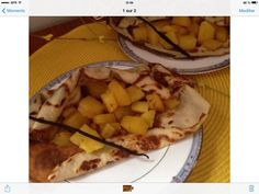 Sucré des îles Hawaiian Pizza, Food, Pineapple, Sugar, Recipes, Meals