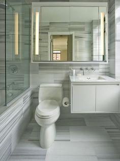 Diseño de cuarto de baño pequeños y medianos con ideas, fotos y tips | Construye Hogar