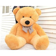 Free Shipping Plush Toys Giant Tedd.. ❤ liked on Polyvore featuring ariana grande and toys