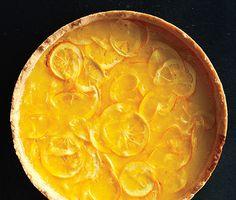 Lemon-Honey Tart with Salted Shortbread Crust recipe
