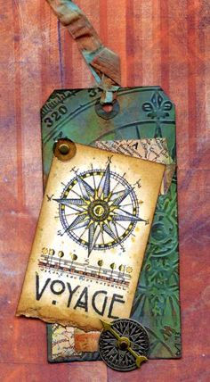 My June tag for Tim Holtz's 12 Tags of 2013