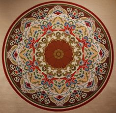 Buddhist Mandala, Dunhuang Caves, China