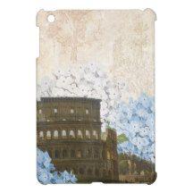 Ancient Rome Blue Hydrangea iPad Mini Case