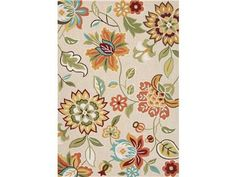 Shop+for+Jaipur+Rugs+Jaipur+Hand-Tufted+Floral+Pattern+Taupe+&+Tan+Polyester+(2x3)+Area+Rug,+RUG122609,+and+other+Floor+Coverings+Rugs+at+Wright+Furniture+&+Flooring+in+Hannibal,+MO.+Multi-color+floral+patterns+detail+this+all+looped+poly-tufted+area+rug.+Decidedly+modern,+the+Blossom+collection+illuminates+any+decor.