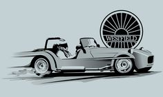 Vector illustrations produced for Westfield Sportscars, black and white line art illustrations were primarily used for t-shirt prints. Art Illustrations, Illustration Art, Black And White Lines, Line Art, Printed Shirts, Creative, Prints, T Shirt, Fashion