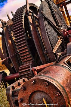 Rusty Machinery by Birdman of El Paso