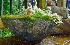 Hypertufa Pots by kgkiser 2013 - The Symbol is a Caldron