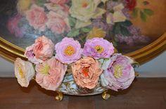 cold porcelain pionies  handmade and paint  https://www.facebook.com/Weddings-Bouquets-Manuela-Hourcastagnou-452798688118522/