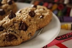 If you like the rich taste of chocolate and the goodness of oatmeal, these easy drop cookies are for you!