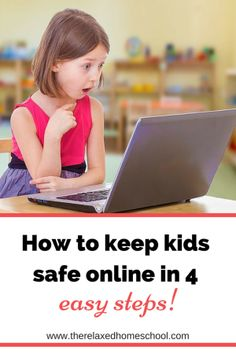 Kids Safety Learn how to keep your kids safe online with these easy steps! It is very important to teach your kids online safety at an early age. These steps make it super easy! - Things that you should be doing to keep your children safe online! Internet Safety For Kids, Safe Internet, Kids Safety, Teaching High Schools, Homework Online, Cyber Safety, Learning Websites, Digital Citizenship, Kids Online