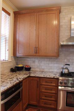 Custom Kitchen cabinets and granite