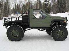 Dodge Ram turned into aggressive buggy! And I just love the modified bed, windows and wheels this truck has. Ram Trucks, Dodge Trucks, Lifted Trucks, Cool Trucks, Cool Cars, Chevrolet Trucks, Diesel Trucks, Chevrolet Impala, Vw Bus