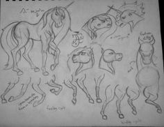 Horse Anatomy Study by -- I love Hunter and Azure's sibling fights. The fight can quickly go from new to old, ridiculous to serious, verbal to physical to magical. Sibling Fighting, Art Rules, Horse Anatomy, No Drama, Anatomy Study, We Are Family, Art Boards, Pony, My Arts