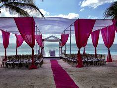 Hindu Mandap Beach Front Wedding