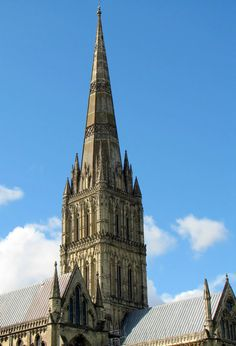 Gothic Architecture Cathedrals   For All The Saints Hauptwerk Salisbury Cathedral