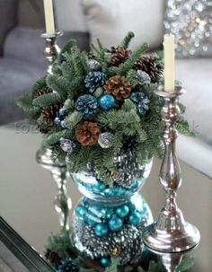 Are you curious about the hottest Christmas decoration trends that are presented for this year? Do you want to get a new Christmas decoration idea tha... -  Christmas Decoration Trends 2017 (37) .