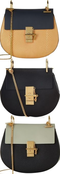 The Chloe 'Drew' Shoulder Bag Fall 2015 | House of Beccaria~