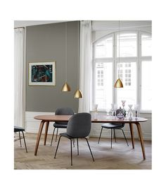 Dining table ellipse