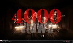 Our first single 'Ready to Kill' has just passed 4000 views on YouTube! MANY THANKS EVERYONE!