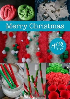 Christmas Messy Play