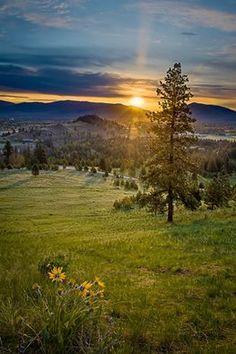 Missoula Sunrise, Western Montana