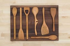How to: Make Your Own Hardwood Kitchen Utensils