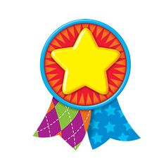 Star Medal Classic Accents® Trend Enterprises Inc. September Crafts, School Advertising, Birthday Charts, Reward Stickers, Classroom Decor Themes, Halloween Crafts For Kids, School Themes, Mason Jar Crafts, Kids Cards