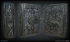 Harry Potter Spell Book Breakdown - Polycount Forum
