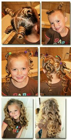 How to make ur hair curly overnight