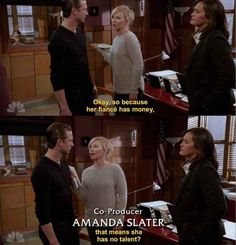 I love Amanda's subtle digs at everyday sexism. I also love her not-so-subtle digs at Carisi. In my role as Sarcastic and Critical but Hilarious and Also Socially Aware Young Woman, I aspire to be Amanda Rollins. How many of us have blatantly questioned sexist assumptions to those who have made them? If that number isn't all of us, it should be. Fight for your right to exist. #Girlpower strikes again