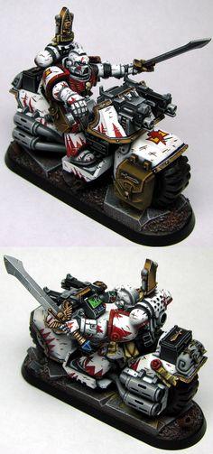 SM White Scars Commander - Sevalsky