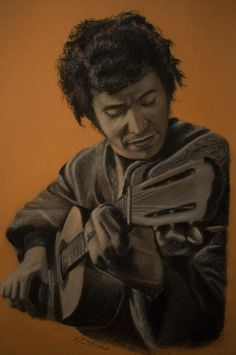 Portrait of Victor Jara by donjeshu on Stars Portraits, the biggest online gallery for celebrity portraits. Victor Jara, John Travolta, Celebrity Portraits, Bruce Lee, Online Gallery, Cristiano Ronaldo, Che Guevara, Stars, Celebrities